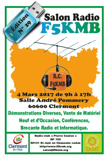 Salon Radio F5KMB Chaumont 60 (2017)