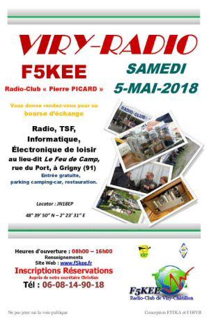 Brocante Viry-Radio 2018, 5 mai 2018