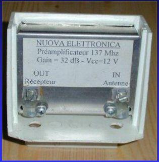 Préampli antenne 137 MHz