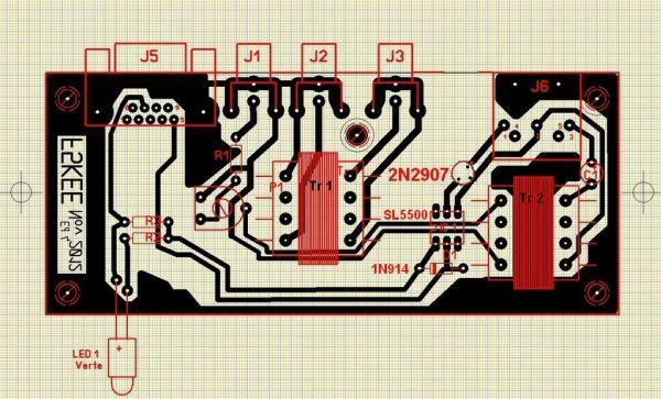 Avec Transistor - Sans CW