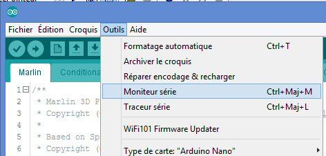 Init Arduino : Monitoring