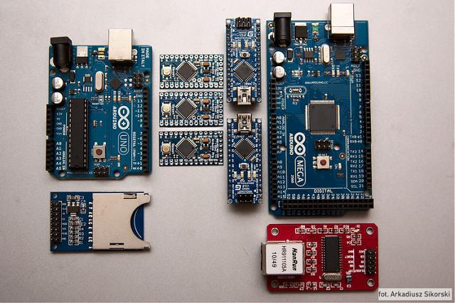 Cartes Arduino : Uno, Mini, Nano, Mega