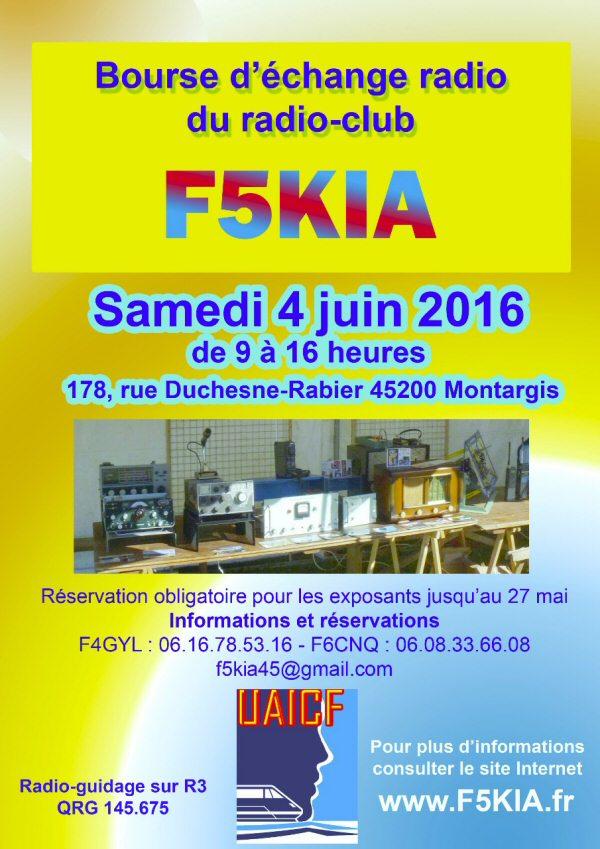 Bourse F5KIA Montargis 45