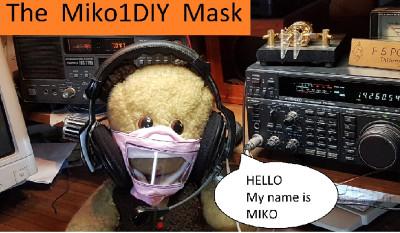 Masque malentendant