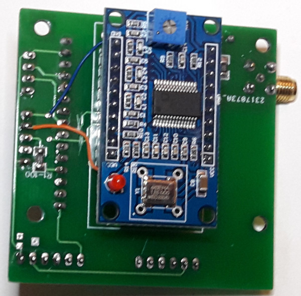 PCB VFO-DDS (Recto)